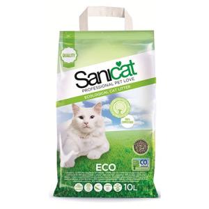 Macskaalom Sanicat Eco Papír És Cellulóz 10L