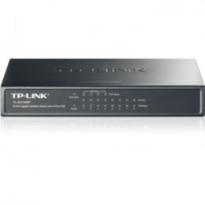 TP-Link TL-SG1008P Switch, 8 x 10/100/1000 Mbps (TL-SG1008P)