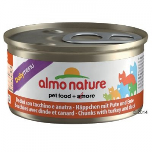 Almo Nature Daily Menu 6 x 85 g - Marhafalatok