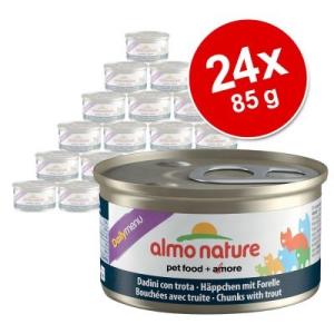 Almo Nature Daily Menu gazdaságos csomag 24 x 85 g - Nyúl mousse
