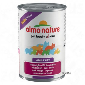 Almo Nature Daily Menu 6 x 400 g - Borjú