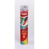 KORES Színes ceruza készlet hegyezővel fémdobozban, háromszögletű, vastag, KORES, Tin Tube Jumbo 6 különböző szín (IK93305)