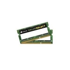 Corsair Corsair DDR-3 8GB /1600 Value KIT SoDIMM (CMSO8GX3M2A1600C11)