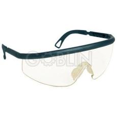 Lux Optical® Fixlux védõszemüveg, ívelt, karcmentes, polikaronát UV400 lencse, szilikon orrnyereg