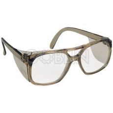 Lux Optical® Polux védõszemüveg, mûanyag keret, karcmentes lencse, rögzített oldalvédõ