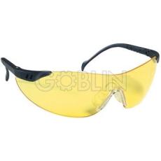 Lux Optical® Stylux védõszemüveg, sárga lencse, állítható hosszúság és dõlésszög