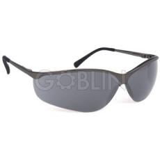 Lux Optical® Titalux védõszemüveg, füstszínû, karcmentes látómezõk, hajlékony, puha szárvégek