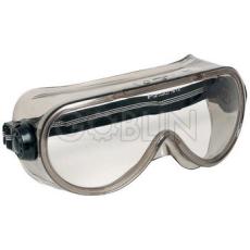 Lux Optical® Shellux védõszemüveg, gumipántos, páramentes, oldalszellõzõ gombok