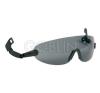 Lux Optical® Peltor V6 sisakszemüveg, állítható szárú, sötét lencsével védőszemüveg