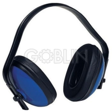 Earline® MAX 300 kék ABS fültok, könnyû (SNR 27dB)