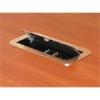 AVS Asztalba süllyeszthető kábelrendező WAS8