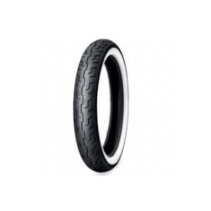 Dunlop D401 F Elite S/T H/D WWW ( 100/90-19 TL 57H Első kerék, M/C, fehérfalú, white wall gumi, wide white wall )