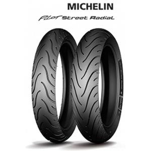 MICHELIN Pilot Street Radial Rear ( 140/70 R17 TT/TL 66H M/C )