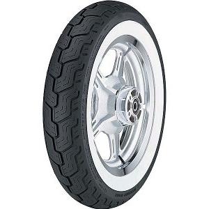 Dunlop D404 WW ( 150/90B15 TL 74H fehérfalú, white wall gumi, M/C, hátsó kerék )