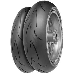 Continental ContiRaceAttack Comp. Medium ( 120/70 ZR17 TL 58W M/C )