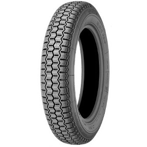 MICHELIN ZX ( 135 SR15 72S Weißwand mit Michelin Karkasse WW 40mm )