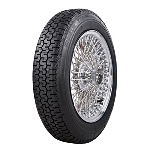 MICHELIN XZX ( 165 SR15 86S Weißwand mit Michelin Karkasse WW 40mm )