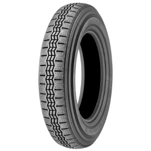 MICHELIN X ( 125 R15 68S Weißwand mit Michelin Karkasse WW 40mm )