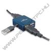 MANHATTAN 160605 Hi-Speed USB 2.0 Micro Hub, 4 Portos, Bus Power