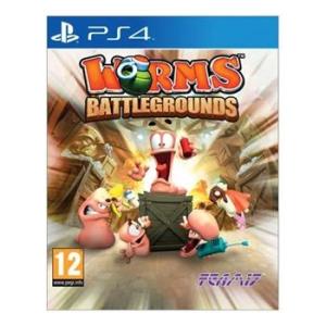 Team 17 Worms Battlegrounds - PS4