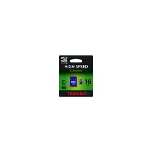 Toshiba MTMS16GA micro (SDHC Class 4) 16GB memóriakártya adapterrel