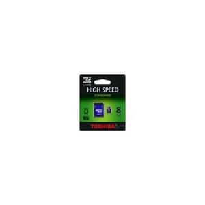 Toshiba MTMS8GA micro (SDHC Class 4) 8GB memóriakártya adapterrel