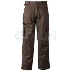 Coverguard GARDENER khaki munkaruházat sötétkék díszítéssel, deréknadrág, biztonsági varrás,...