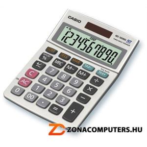 """Számológép, asztali, 10 számjegy, CASIO """"MS-100"""" (GCMS100)"""