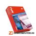 Etikett, mátrixnyomtatókhoz, 3 pályás, 66x10,6 mm, APLI, 36000 etikett/csomag (LCA021)