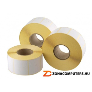 . Etikett, thermo, 25x40 mm, 2000 etikett/csomag (ISCT2540)