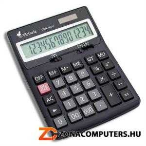 """Számológép, asztali, 14 számjegy, VICTORIA """"GVA-140"""" (GVA140)"""