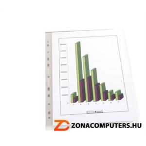 """Genotherm, """"L"""", lefűzhető, A4, 130 mikron, narancsos felület, REXEL """"Anti slip"""" (IDGL2180)"""