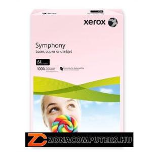 """Másolópapír, színes, A3, 80 g, XEROX """"Symphony"""", rózsaszín (pasztell) (LX92261)"""