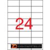 Etikett, univerzális, 70x37 mm, APLI, 12000 etikett/csomag (LCA1783)