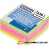 Öntapadó jegyzettömb, 50x50 mm, 5x50 lap, DONAU, neon szín (D7575)