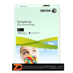 """Másolópapír, színes, A3, 80 g, XEROX """"Symphony"""", világoszöld (pasztell) (LX91955)"""