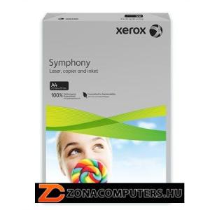 """Másolópapír, színes, A4, 80 g, XEROX """"Symphony"""", szürke (közép) (LX93963)"""