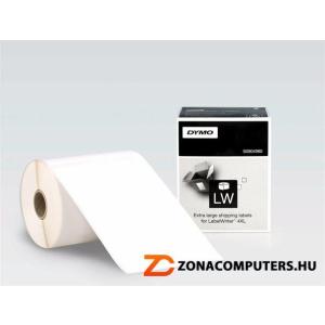 Etikett, LW nyomtatóhoz, 104x159 mm, 220 db etikett, DYMO (GD4980)