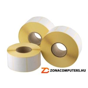 . Etikett, thermo, 38x43 mm, 1000 etikett/csomag (ISCT3843)