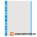 Genotherm, lefűzhető, színes szélű, A4, 40 mikron, narancsos felület, DONAU, kék (D1774K)