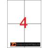 Etikett, univerzális, 105x148 mm, APLI, 400 etikett/csomag (LCA1280)