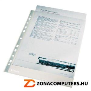 """Genotherm, lefűzhető, A4, 105 mikron, víztiszta felület, ESSELTE """"Luxus"""" (E56093)"""
