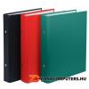 Gyűrűs könyv, 2 gyűrű, 30 mm, A5, PP/karton, DONAU, fekete (D3718FK)