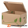 Archiváló konténer, újrahasznosított karton, felfelé nyíló, ESSELTE
