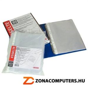"""Genotherm, lefűzhető, A4, 35 mikron, narancsos felület, ESSELTE """"Standard"""" (E16690)"""