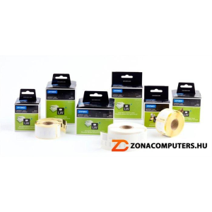 Etikett, LW nyomtatóhoz, 25x54 mm, 500 db etikett, DYMO (GD11352)