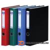 Gyűrűs könyv, 4 gyűrű, D alakú, 45 mm, A4, PP/karton, DONAU, fekete (D3934FK)