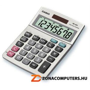 """Casio Számológép, asztali, 8 számjegy, CASIO """"MS-80"""" (GCMS80)"""