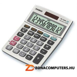 """Számológép, asztali, 12 számjegy, CASIO """"MS-120"""" (GCMS120)"""