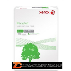 """Másolópapír, újrahasznosított, A3, 80 g,  XEROX """"Recycled"""" (LX91166)"""